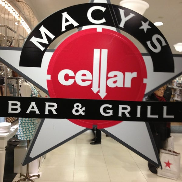 macy 39 s cellar bar grill now closed burger joint in garment