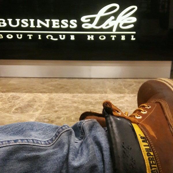 12/29/2016 tarihinde Burak T.ziyaretçi tarafından Business Life Hotel'de çekilen fotoğraf