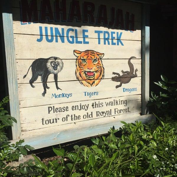 Photo taken at Maharajah Jungle Trek by Howie B. on 10/23/2016