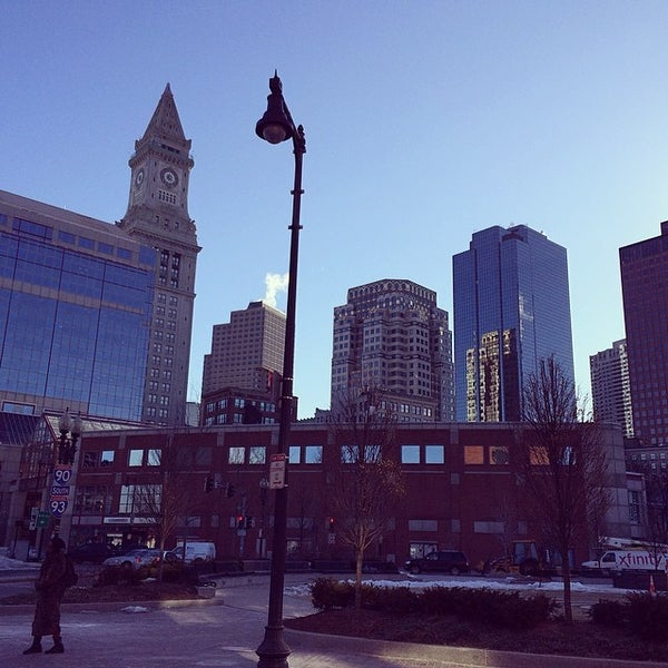 Photo taken at Old Town Trolley Tours of Boston by Anton L. on 3/6/2014
