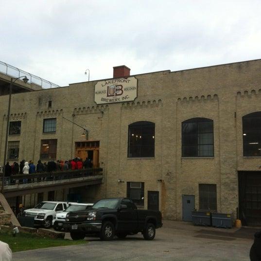 Photo prise au Lakefront Brewery par Nick D. le11/23/2012