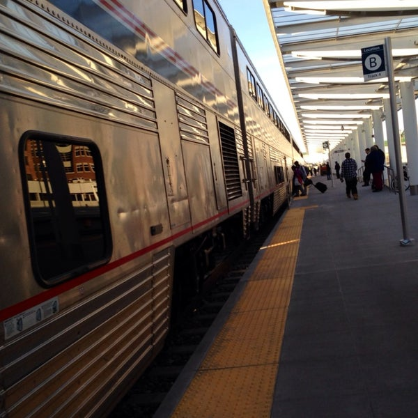 Photo taken at Denver Amtrak (DEN) by Rachel K. on 4/18/2014