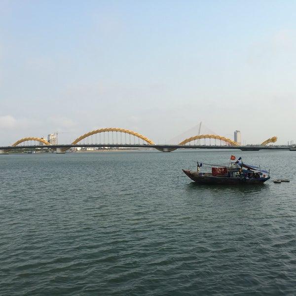 Photo taken at Han River Bridge by Kien N. on 4/7/2016