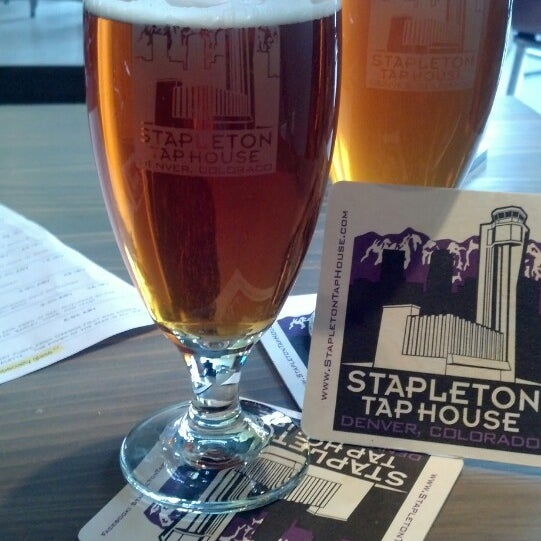 Photo taken at Stapleton Tap House by leigh b. on 8/10/2013