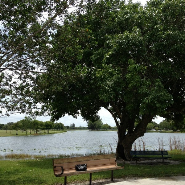 Photo taken at Markham Park by Sylvia K. on 7/20/2013