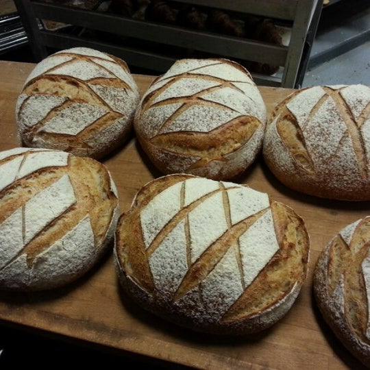 In baker's terms it's called a half dozen. But I call it the best kind of six pack: a sourdough six pack!