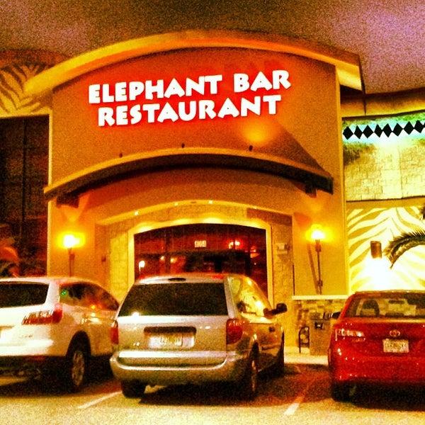 Photo taken at Elephant Bar Restaurant by Rj E. on 11/19/2012