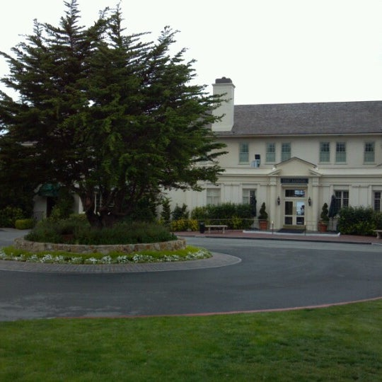 Photo taken at The Lodge at Pebble Beach by Mark M. on 10/20/2012
