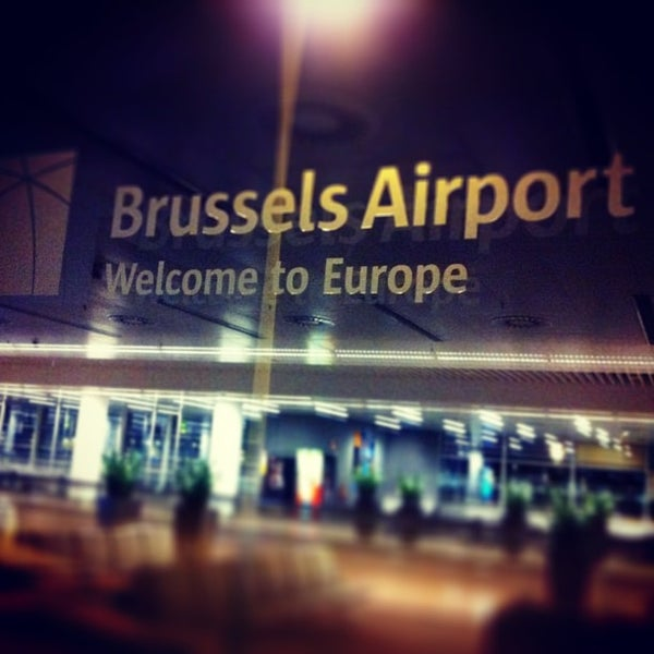 Снимок сделан в Брюссельский аэропорт (BRU) пользователем Kris K. 5/14/2013