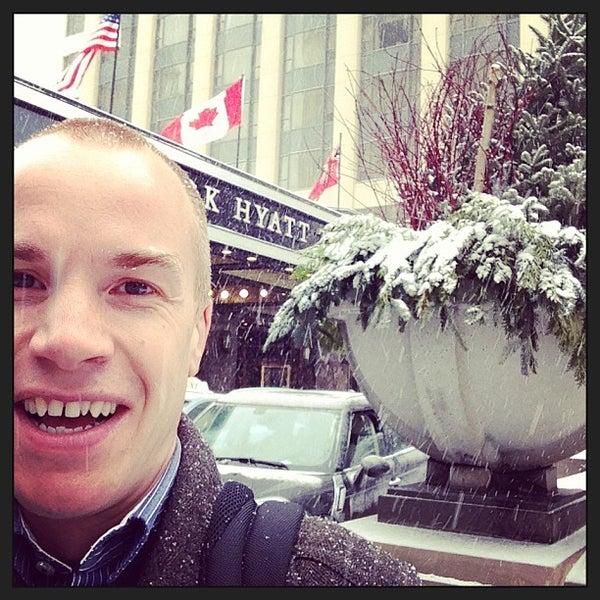 Photo taken at Park Hyatt Toronto by Will G. on 1/25/2013
