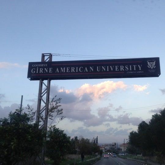 Снимок сделан в Girne American University пользователем Kubra Ipek B. 12/4/2012