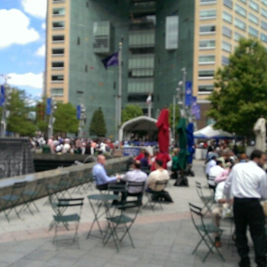 Photo taken at Campus Martius by Steve H. on 6/18/2013