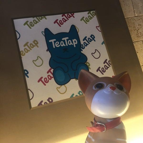 7/2/2016 tarihinde Franchesca Nicole C.ziyaretçi tarafından TeaTap Cafe'de çekilen fotoğraf