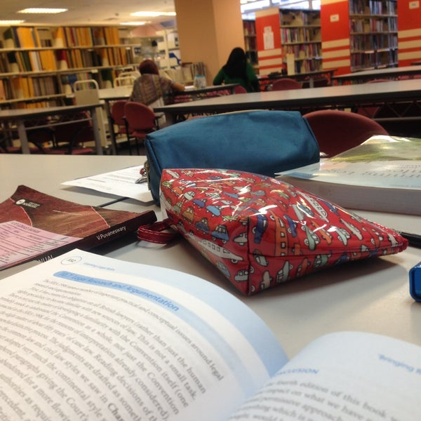 Photo taken at National Library (Perpustakaan Negara) by Yuppy Y. on 4/16/2013