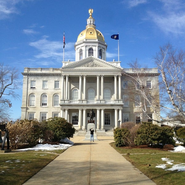 Photo taken at New Hampshire State House by Zach L. on 3/13/2013