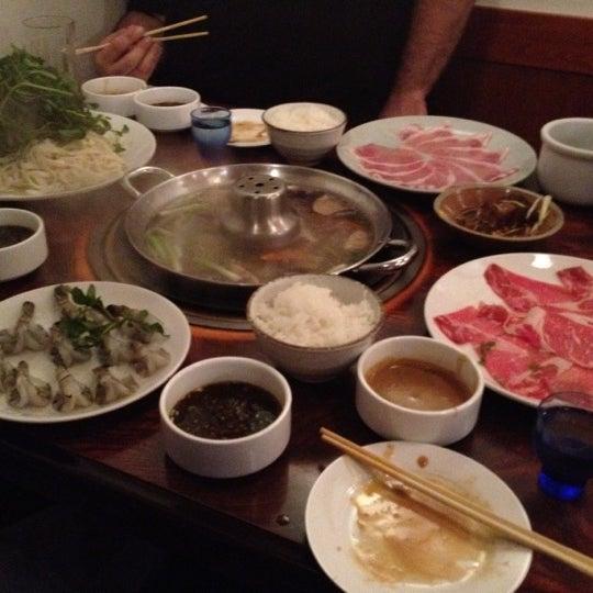 Photo taken at Shabu-Tatsu by Jimbo G. on 10/1/2012