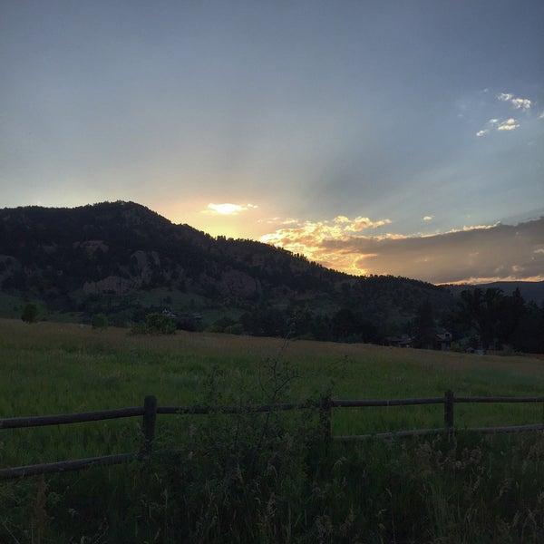 Photo taken at Colorado Chautauqua National Historic Landmark by Eric E. on 7/8/2016