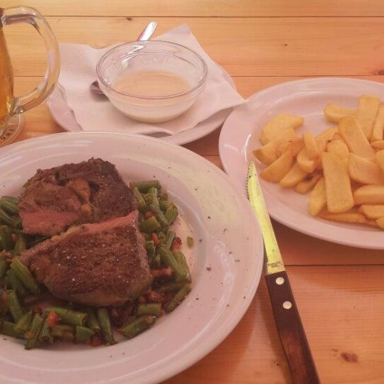 Photo taken at Restaurace Zalužany by Radim P. on 8/1/2014