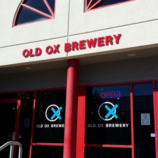 Photo taken at Old Ox Brewery by Dave D. on 10/26/2014