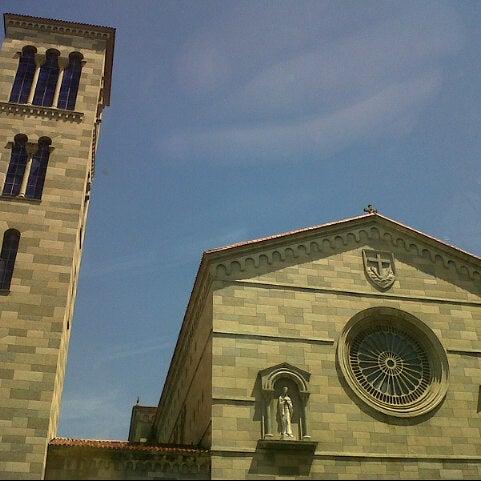 Photo taken at Iglesia Nuestra Señora De La Chiquinquira by Antonio O. on 11/10/2013
