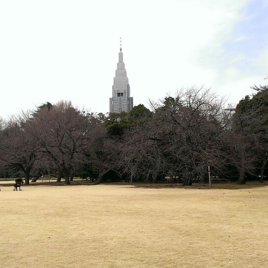 Photo taken at Shinjuku Gyoen by Clomi9999 on 3/3/2013