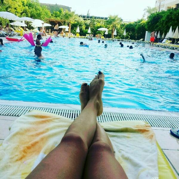 7/26/2016 tarihinde Dilekk K.ziyaretçi tarafından Primasol Telatiye Resort'de çekilen fotoğraf