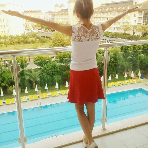 7/24/2016 tarihinde Dilekk K.ziyaretçi tarafından Primasol Telatiye Resort'de çekilen fotoğraf