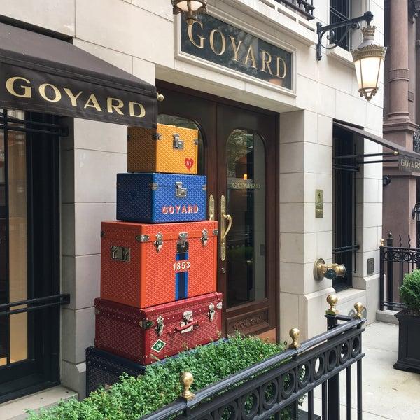 maison goyard leather goods store in new york. Black Bedroom Furniture Sets. Home Design Ideas