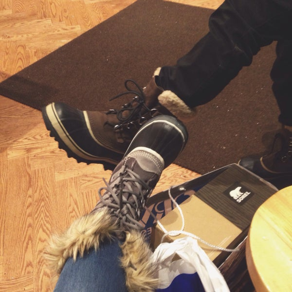 Photo Taken At Orva Shoes By Dawn In Newyork On 1 26