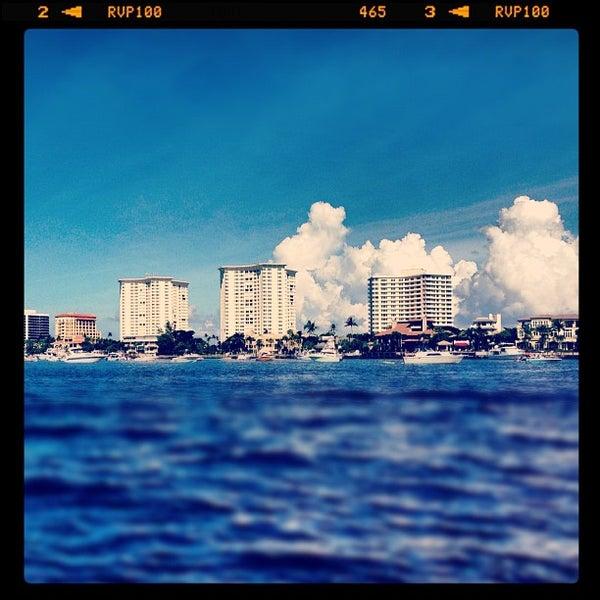 Photo taken at Lake Boca Raton by Aaron M. on 9/29/2012