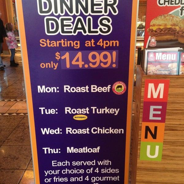 Weeknight dinner deals