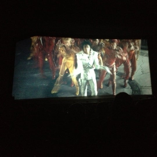 Photo taken at Captain EO by Nika 🌺 A. on 11/21/2012