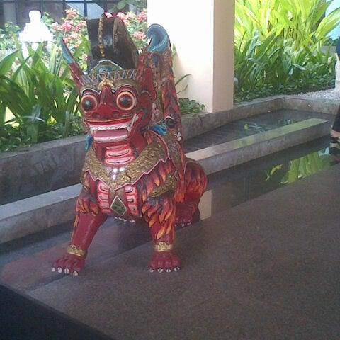 Photo taken at Bali International Convention Centre (BICC) by Gandi F. on 9/23/2014