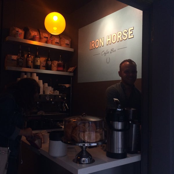 Photo taken at Iron Horse Coffee Bar by Janice F. on 9/14/2015