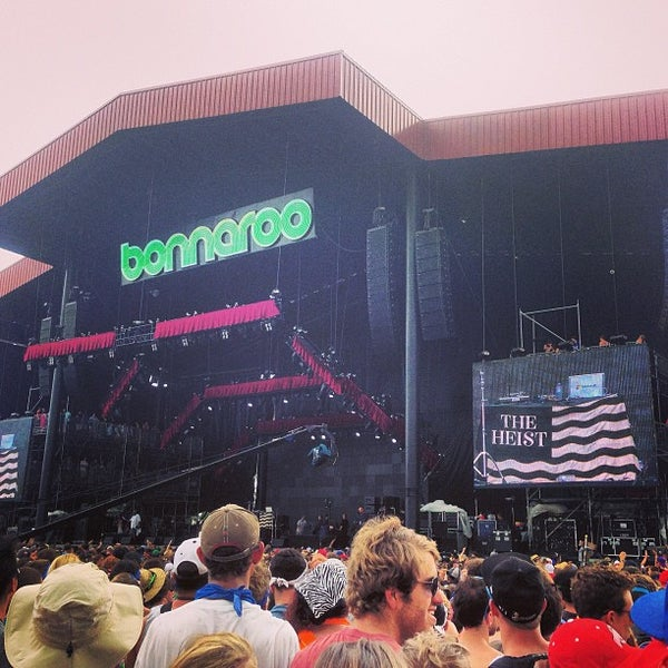 Photo taken at What Stage at Bonnaroo Music & Arts Festival by Chris L. on 6/16/2013