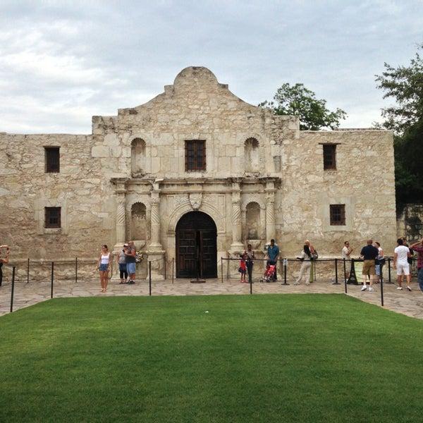 Photo taken at The Alamo by AVB313Peace on 7/14/2013