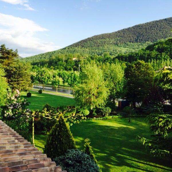 Photo taken at Hotel Grevol Spa & Wellness Llanars by David G. on 5/28/2016