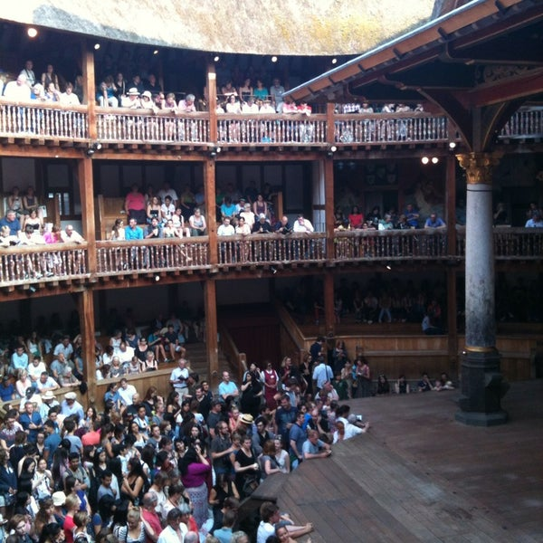 Photo taken at Shakespeare's Globe Theatre by Zeynep K. on 7/21/2013