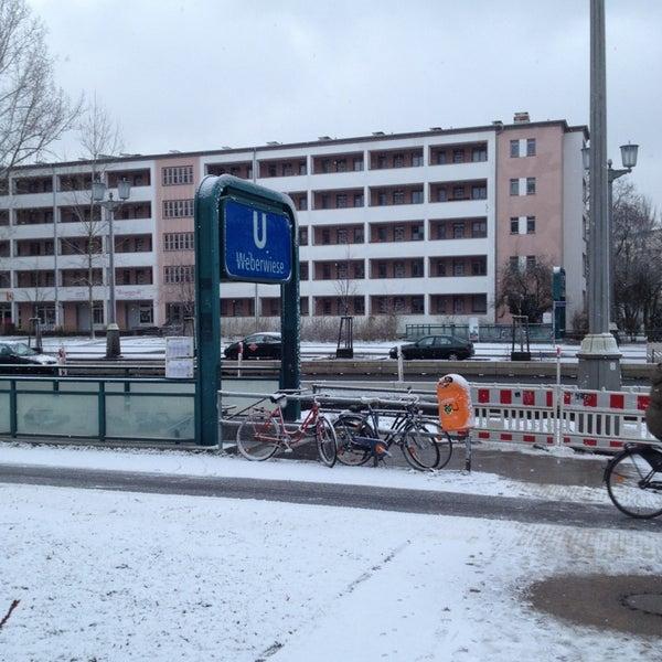 Photo taken at U Weberwiese by bnz on 2/8/2013