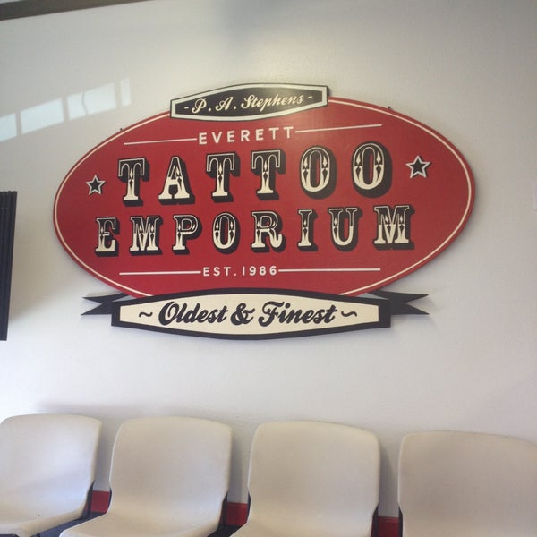 Photos at everett tattoo emporium tattoo parlor in everett for Everett tattoo emporium