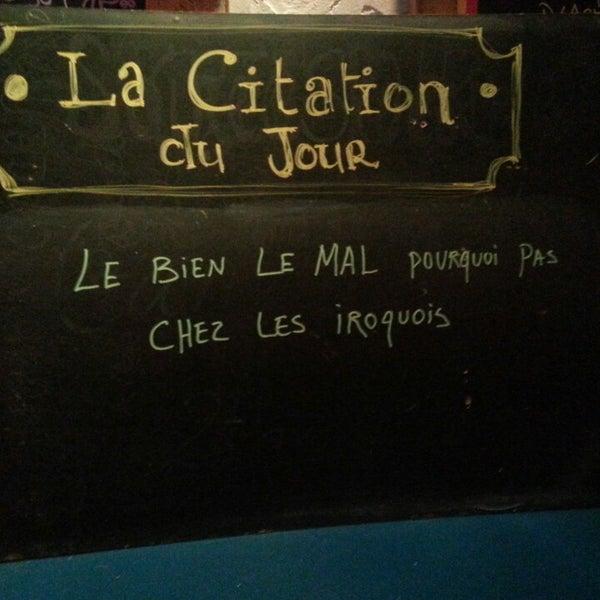 Снимок сделан в Café Bar Zénob пользователем Louis-Felix B. 3/27/2013