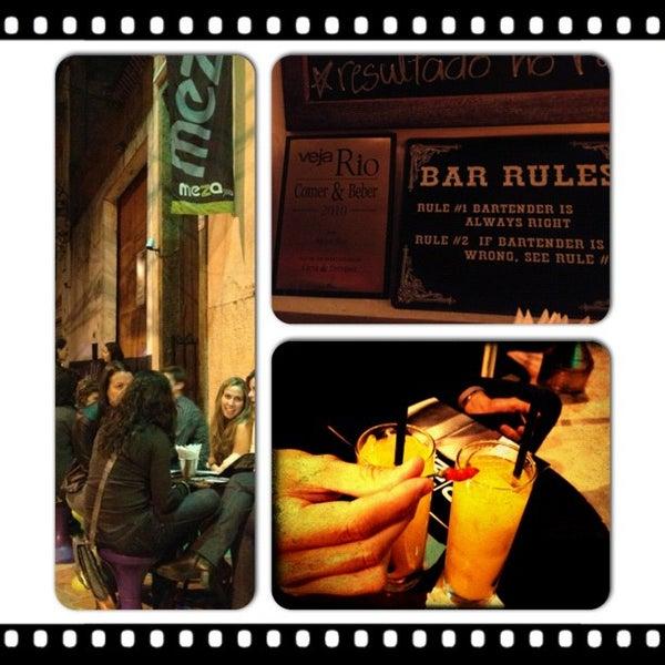 Foto tirada no(a) Meza Bar por Ana Isabel P. em 9/30/2012
