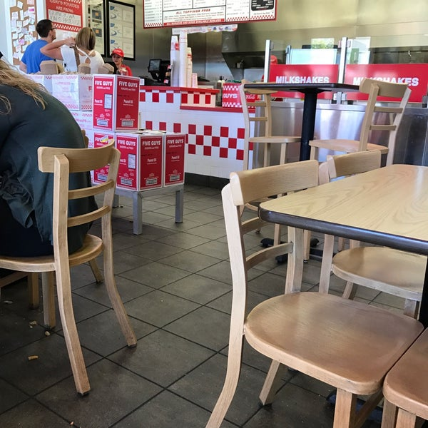 Photo taken at Five Guys by JD S. on 4/9/2017