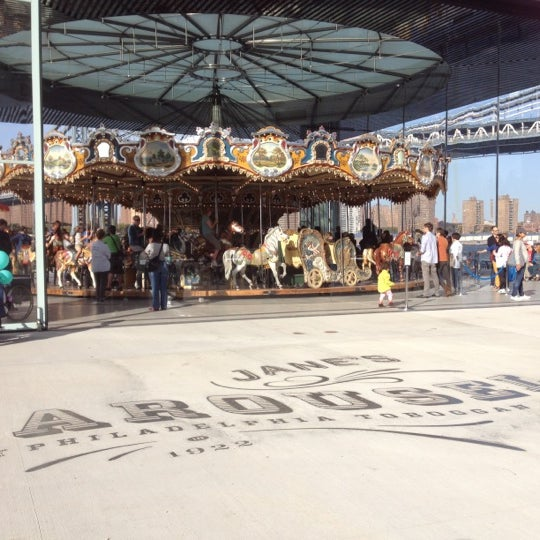 Photo taken at Jane's Carousel by Minyi S. on 10/21/2012