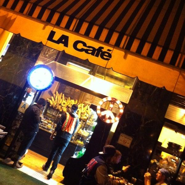 Photo taken at LA Café by Roy E. on 2/24/2013