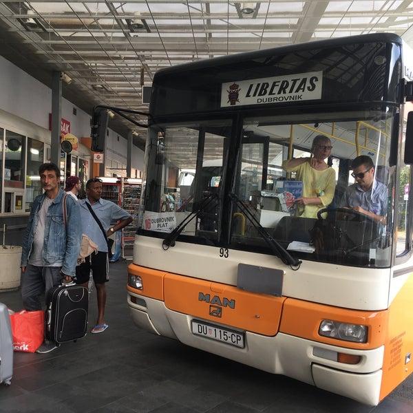 Photo taken at Autobusni Kolodvor Dubrovnik | Dubrovnik Bus Station by Ken P. on 9/11/2017