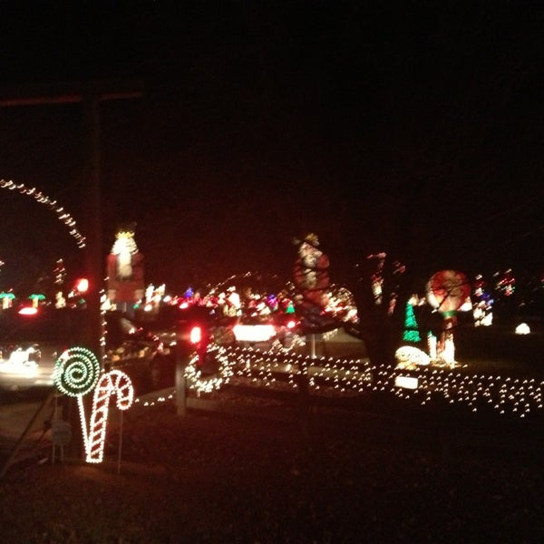 Christmas Lights at The Gaddys - General Entertainment in Fayetteville