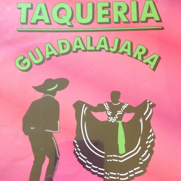Photo taken at Taquería Guadalajara by Justin K. on 8/8/2013
