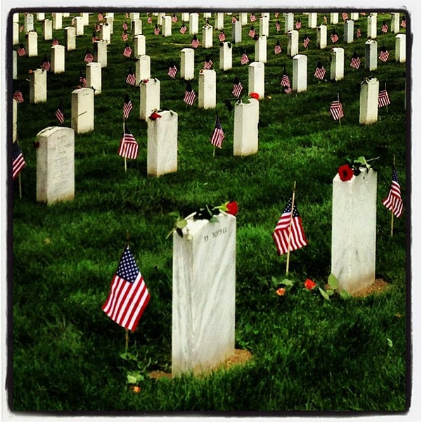 """Photo taken at Arlington National Cemetery by Michael """"Jocco"""" P. on 5/27/2013"""