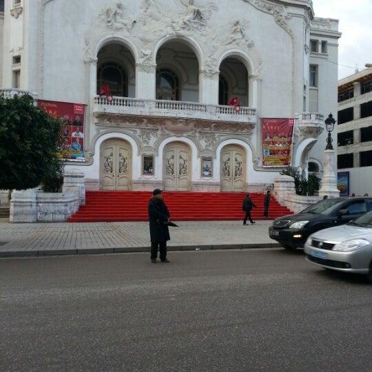 Photo taken at Avenue Habib Bourguiba by Aziz A. on 2/12/2013